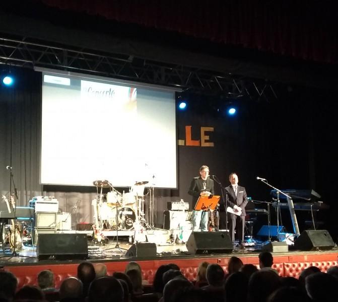Éxito do IV Concerto Solidario da asociación Compostela Solidaria a favor de AGADEA