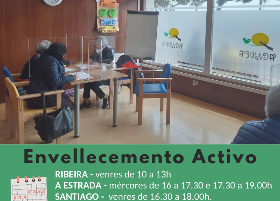 Envellecemento Activo en Santiago, Ribeira, A Estrada e Vedra